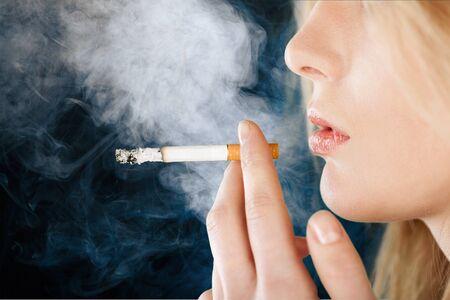Women Smoking.