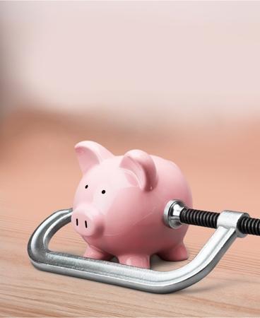 recession: Piggy Bank Recession.