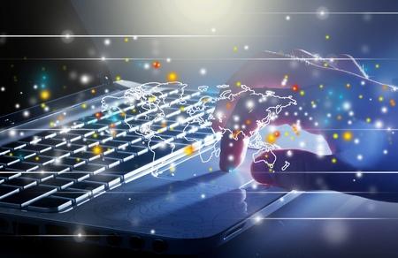 computer netzwerk: Computernetzwerk.