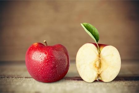 fruitschaal: Apple fruit. Stockfoto