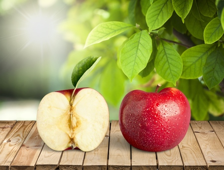 Apple fruit. Stock Photo