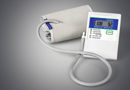 pressure gauge: Blood Pressure Gauge. Stock Photo