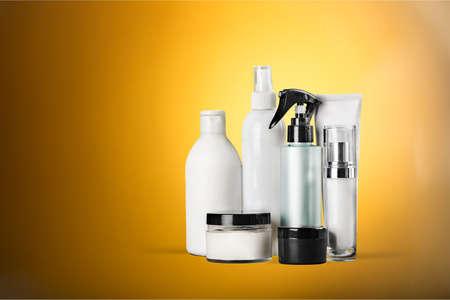 moisturizers: Cosmetic Moisturizers. Stock Photo