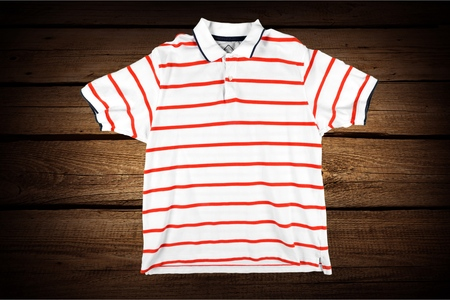 stripes: Red stripes.
