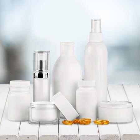 moisturizers: Cosmetics Moisturizers. Stock Photo