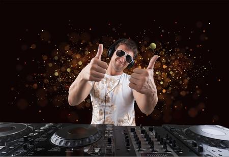 musica electronica: Partido DJ.