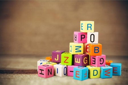 Toy blocks. Stock Photo