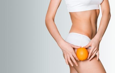 Cellulite skin.