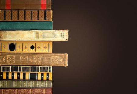 libros antiguos: Libros antiguos. Foto de archivo