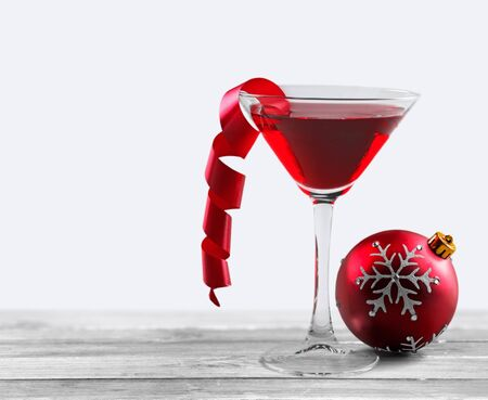 cocktail: Christmas Cocktail.