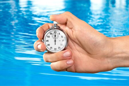 counting: Stopwatch Counting. Stock Photo