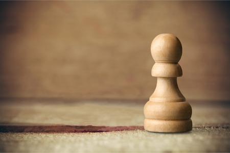 ajedrez: Pe�n de ajedrez. Foto de archivo