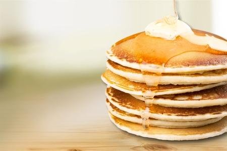 in syrup: Jarabe de mantequilla.