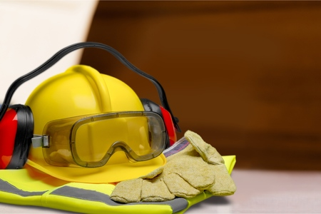 protective workwear: Protective Workwear. Stock Photo