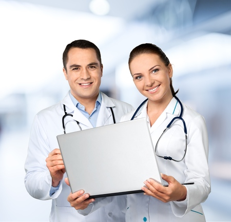 medical personnel: Medical personnel. Stock Photo