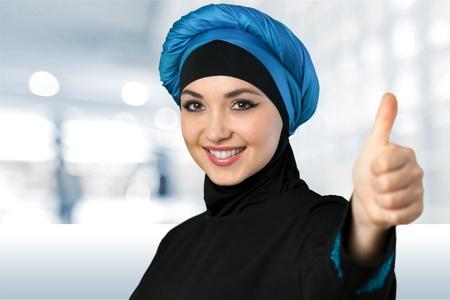 arabic woman: Muslim woman.