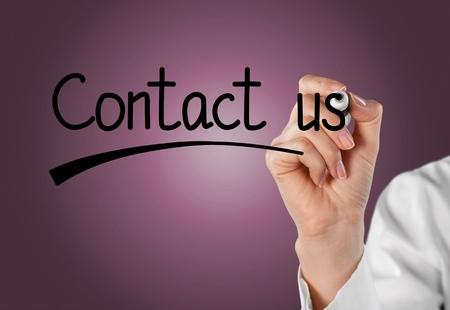 contact: Contact. Stock Photo