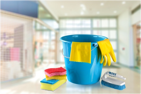 residential structure: Cleaning. Stock Photo