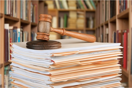 paperwork: Law.