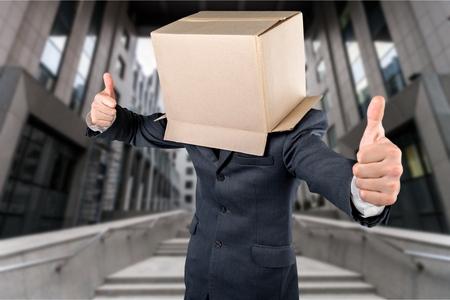 masquerader: Box. Stock Photo