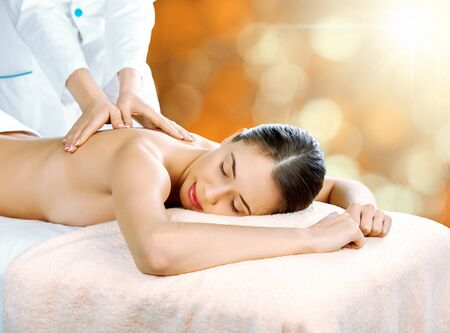 lymphatic drainage therapy: Relax.