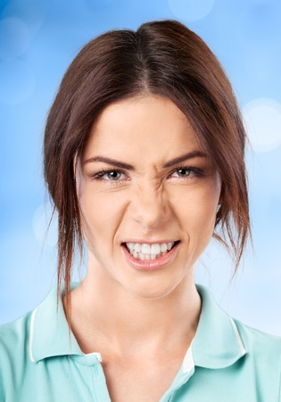 facial expression: Facial Expression. Stock Photo