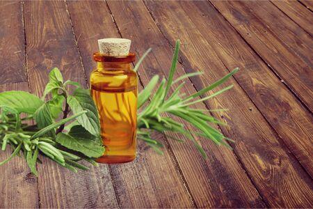 rosemary flower: Oil.