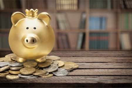 coin bank: Piggy Bank.
