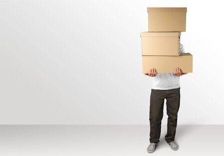 boite carton: Boîte.