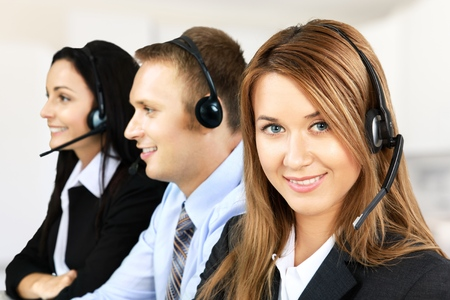 customer support: Service. Stock Photo