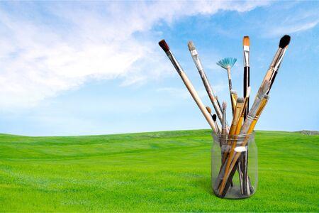 paint tool: Paintbrush.