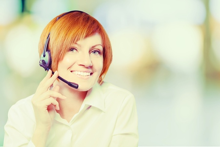 customer service: Connection. Stock Photo