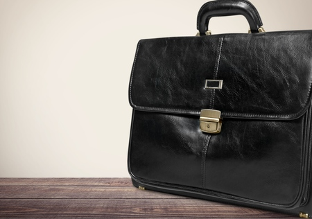 business briefcase: Briefcase. Stock Photo