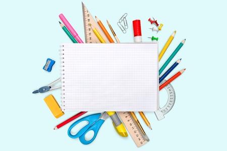 utiles escolares: Escritorio.