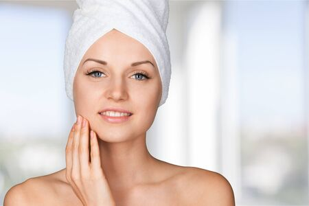 peel: Microdermabrasion. Stock Photo