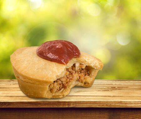 pastry crust: Meat Pie.