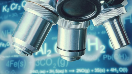 Nanotechnology. Stock Photo