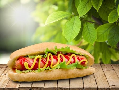 food photography: Hot Dog.