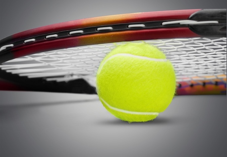 recreational pursuits: Tennis. Stock Photo