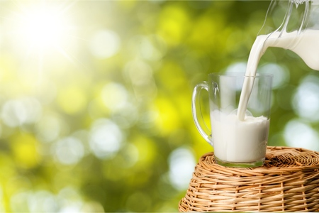 Milk. Foto de archivo