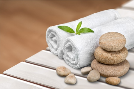 toalla: Spa de salud.