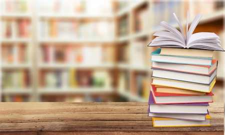 bookshelf: Bookshelf. Stock Photo