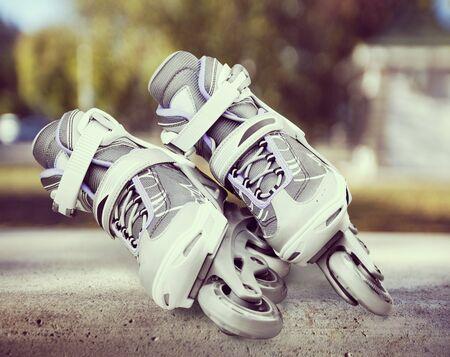 speed skating: Inline Skate.