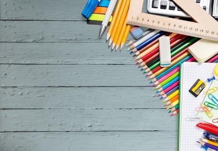 teaching crayons: School.