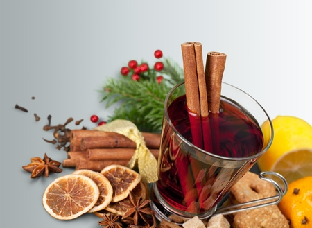 mulled wine spice: Mulled Wine.