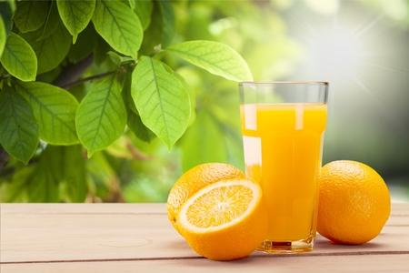 Sok pomarańczowy.