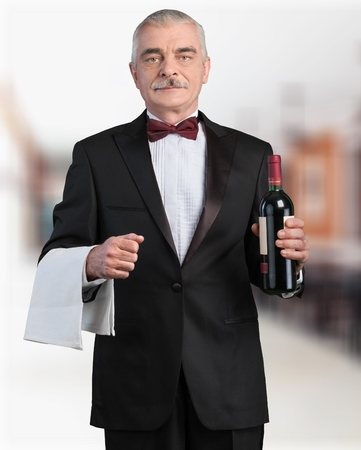 dinner wear: Waiter.