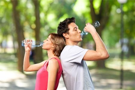 sport clothes: Water.