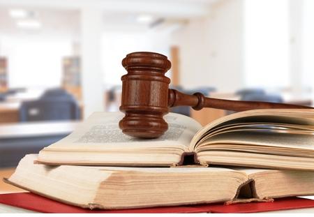 conflictos sociales: Ley. Foto de archivo