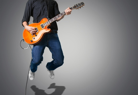 one person only: Guitar.